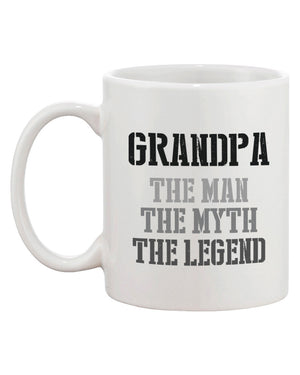 The Man Myth Legend Mug Cups for Grandpa X-mas Gifts ideas for Grandfather - 365INLOVE