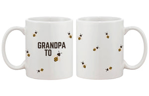 Grandpa To Bee Funny Mug Cup- Cute Design Printed Best Gift For Grandfather - 365INLOVE