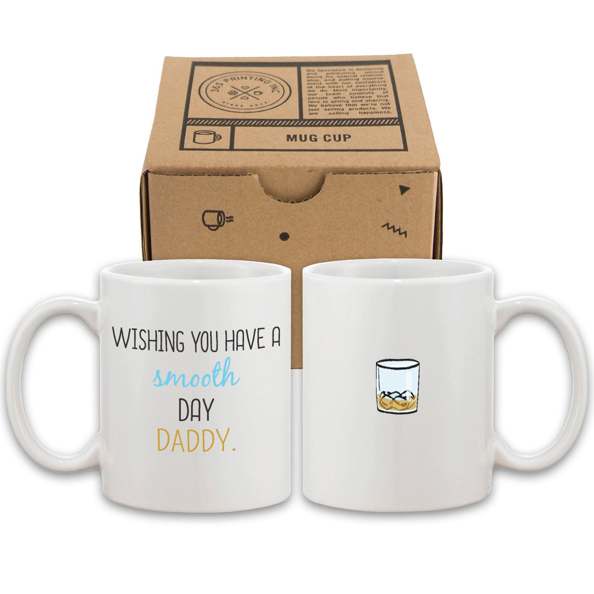Wishing You Have A Smooth Day Daddy Cute Mug Funny Father S Day Gifts 365 In Love Matching Gifts Ideas