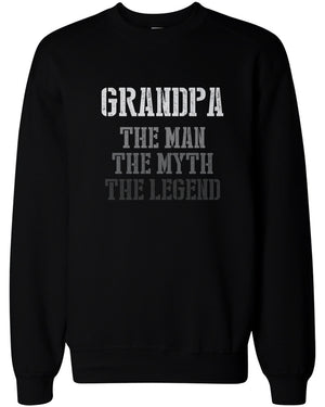 The Man Myth Legend Sweatshirts for Grandpa Holiday Gift idea for Grandfather - 365INLOVE