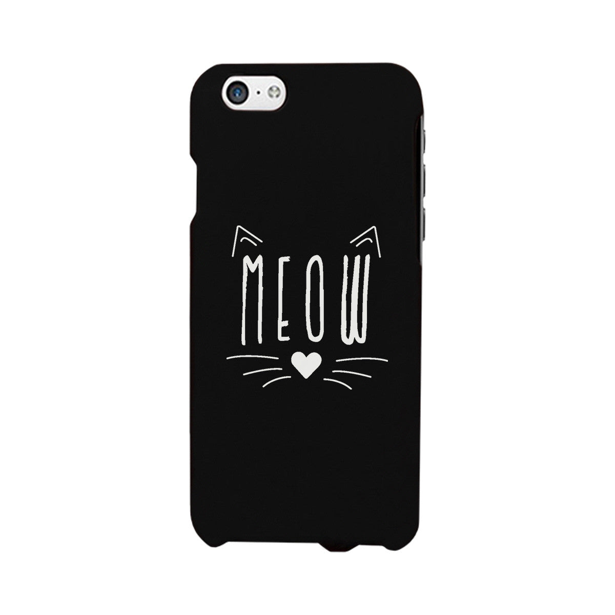 Meow Funny Phone Case Cute Graphic Design Printed Phone Cover Gift 365 In Love Matching Gifts Ideas