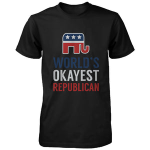 World's Okayest Republican T-Shirt for Men