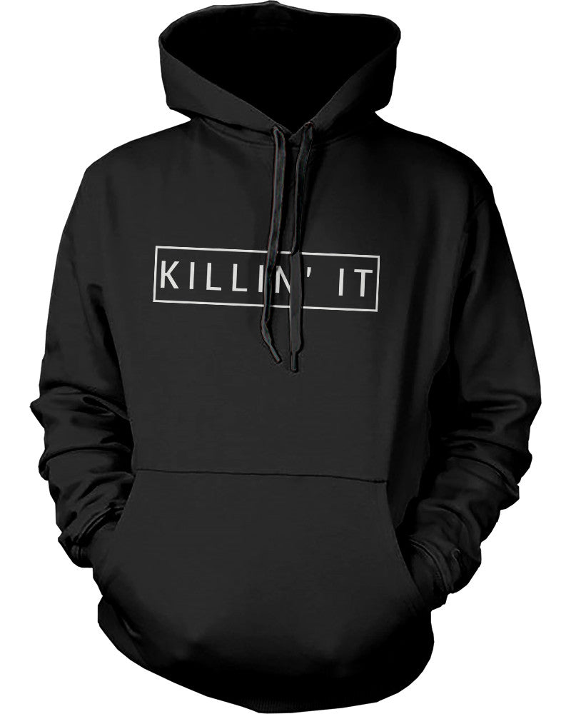 Killin\' It Graphic Hoodie Trendy Hooded Sweatshirts Pullover Fleece ...