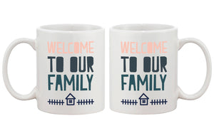 Welcome to Our Family Coffee Mug for Daughter in Law or Son in Law Cute - 365INLOVE