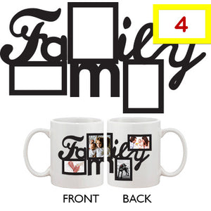 Personalized Coffee Mug For your Own Four Pictures Best Gift ideas for Family Custom Mug - 365INLOVE