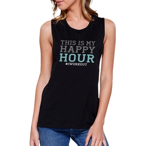 Happy Hour Work Out Muscle Tee