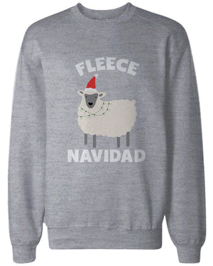 Feliz Navidad Christmas Sweatshirts Funny Holiday Pullover Fleece Sweaters - 365INLOVE