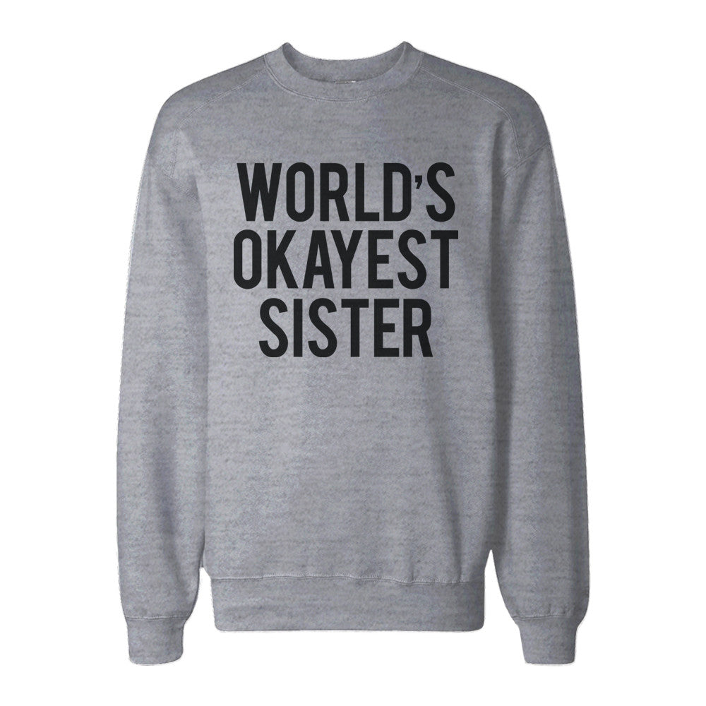 Sister Gift, Christmas gifts, Christmas sweater, Gift from brother, Sister Sweatshirt, Funny Sister Gift, Gift for Sister, Family Christmas