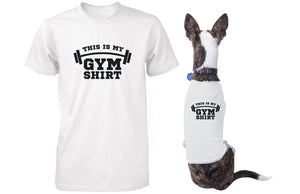 My Gym Shirts Matching T-shirts for Owner and Dog Funny Pet and Human Apparel - 365INLOVE