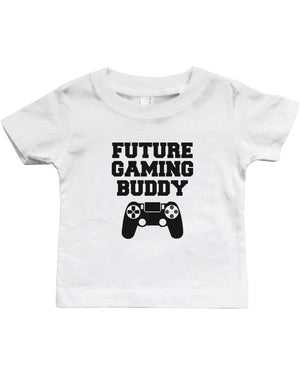 Future Gaming Buddy - Funny Graphic Statement Bodysuit / Infant T-shirt - 365INLOVE