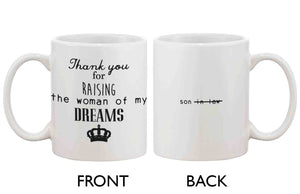 Coffee Mug for Dad - Thank You For Raising The Woman of My Dream, Dad Mug - 365INLOVE