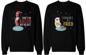 funny bacon and egg sweater