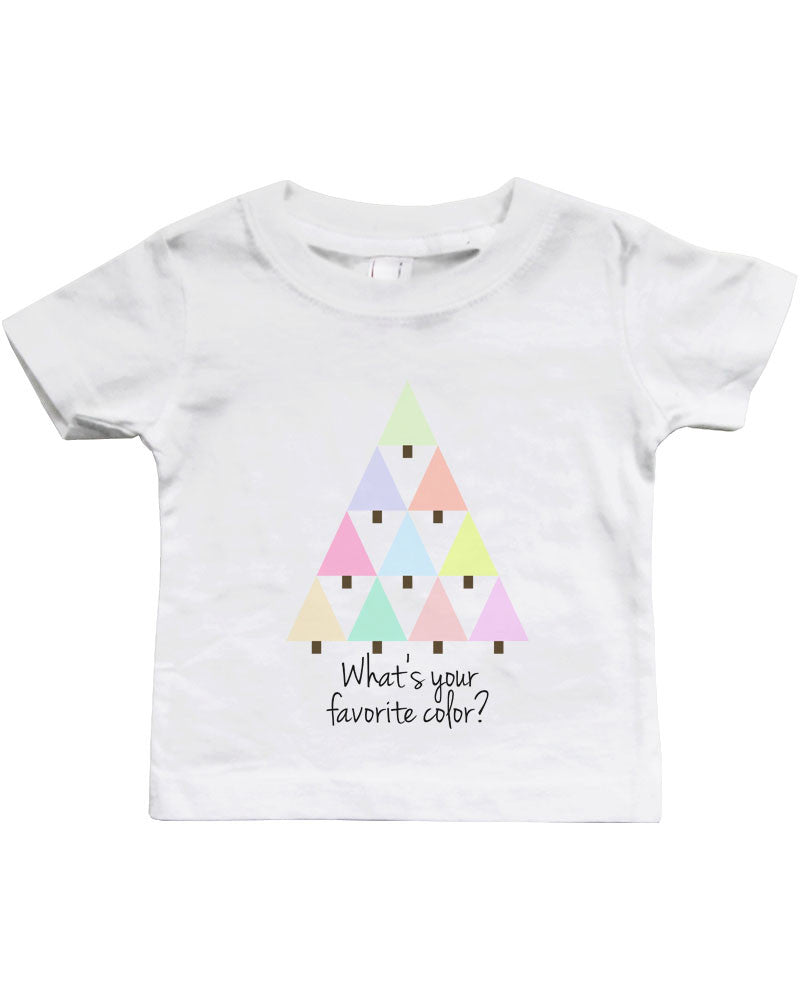 Favorite Color White Baby Shirt Cute Infant T-Shirt - 365 IN LOVE ...