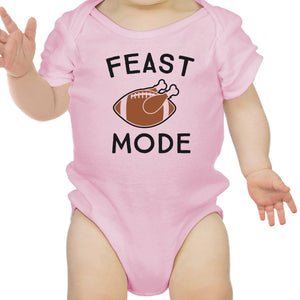 Feast Mode Baby Pink Bodysuit