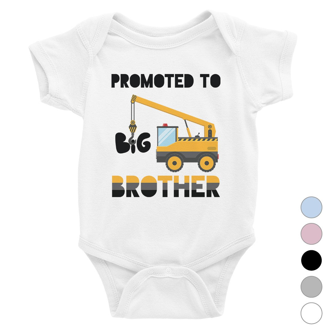 a127daf4 Promoted To Big Brother Baby Bodysuit Gift For Baby Announcement ...