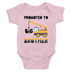 Promoted To Big Brother Baby Bodysuit Gift For Baby Announcement