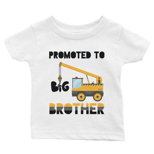 Promoted To Big Brother Baby Gift Tee Shirt For Baby Announcement