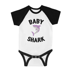 Daddy Mommy Baby Shark Family Matching Gifts Baseball Shirts For Men
