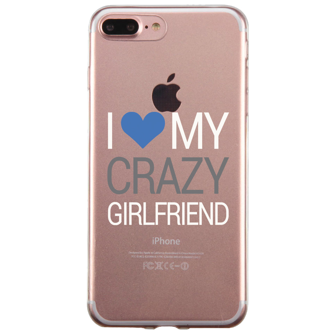new concept 12ed1 06ed9 Crazy BF GF Couple Matching Phone Cases Passionate Loving Silly