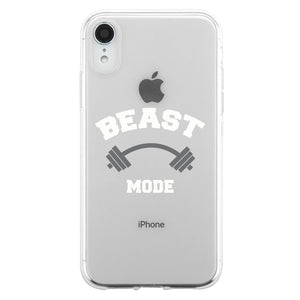 Beast Beauty Mode Couple Matching Phone Cases Encouraging Great