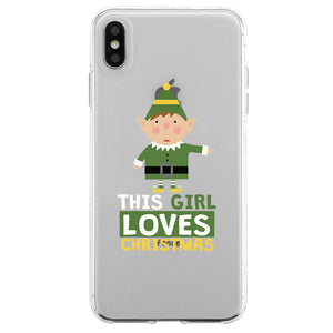 Loves Christmas Couple Matching Phone Cases Beautiful Christmas