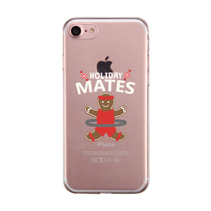 Swole Mates Ginger Cookie Couple Matching Phone Cases Powerful Fun