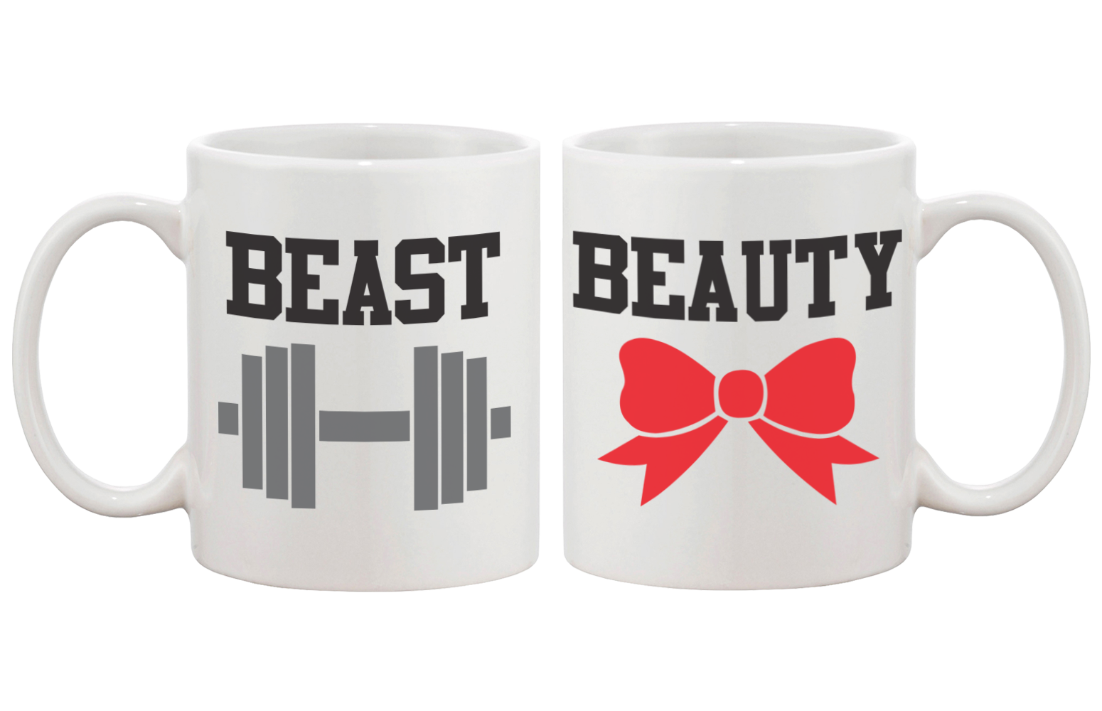 Cute Gifts For Couples Beauty And Beast Coffee Mugs 365 In Love