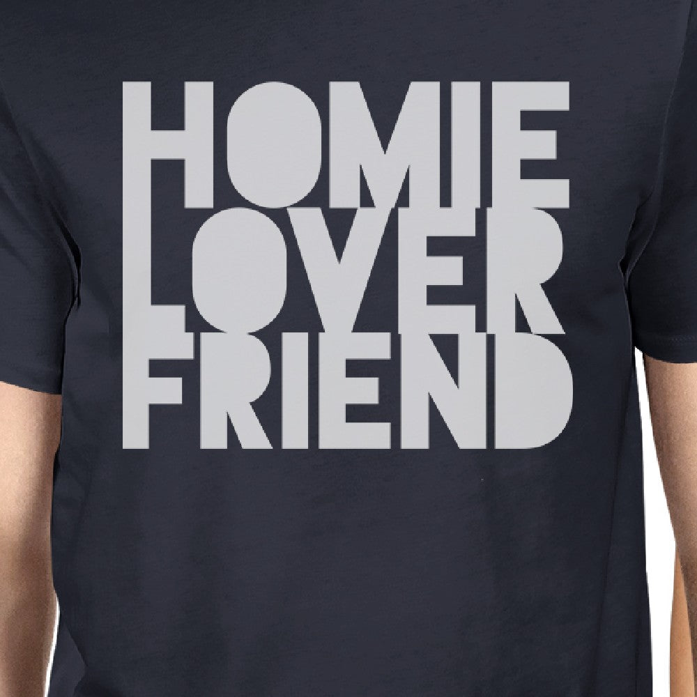 0a1161cd58 Homie Lover Friend Matching Couple Navy Shirts - 365 IN LOVE ...
