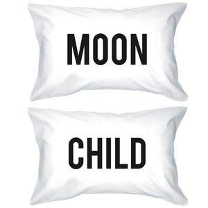 Funny Pillowcases Standard Size 20 x 31 - Moon Child Matching Phillow Case - 365INLOVE