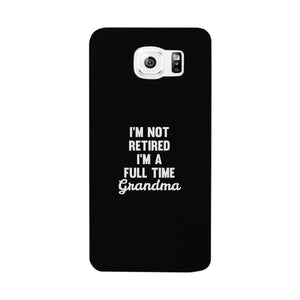 Full Time Grandma White Cute Phone Case Funny Gift For Grandma - 365INLOVE