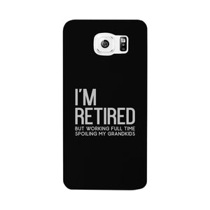 Retired Grandkids Case Funny Grandparents Birthday Gift Phone Cover