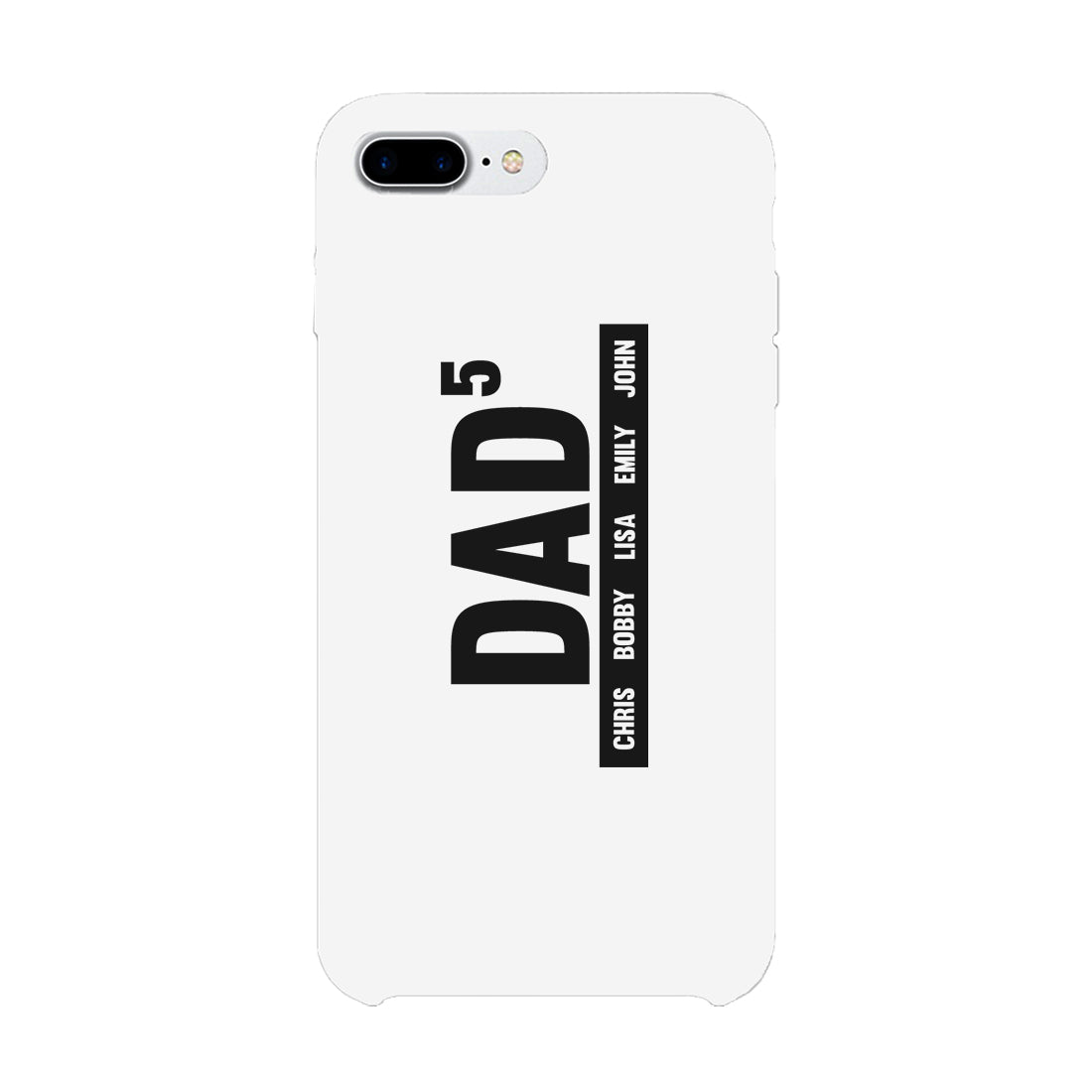 Dad Boys And Girls Custom Personalized Phone Case
