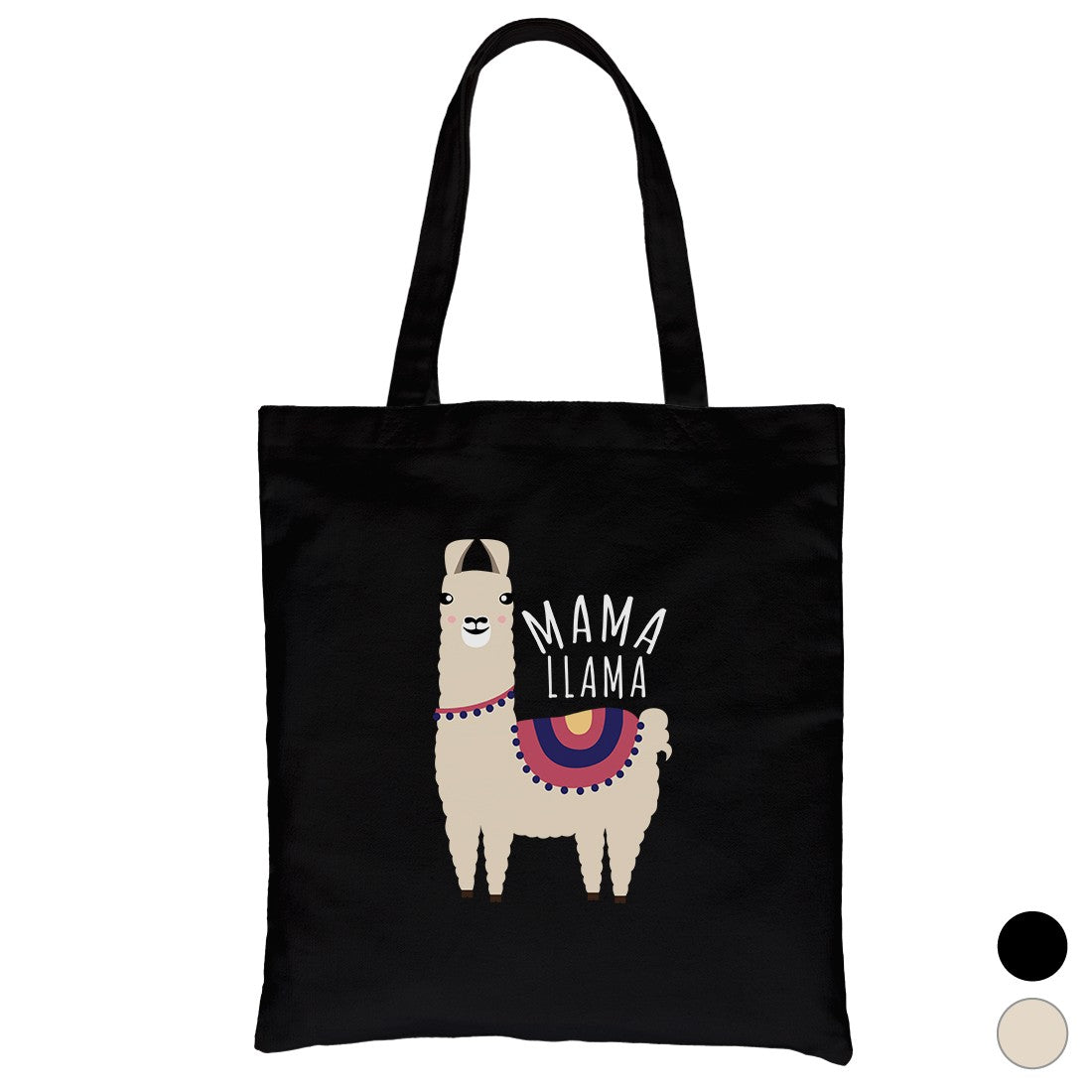 58ae7a7b612 Mama Llama Heavy Cotton Canvas Bag Washable Tote Mothers Day Gifts