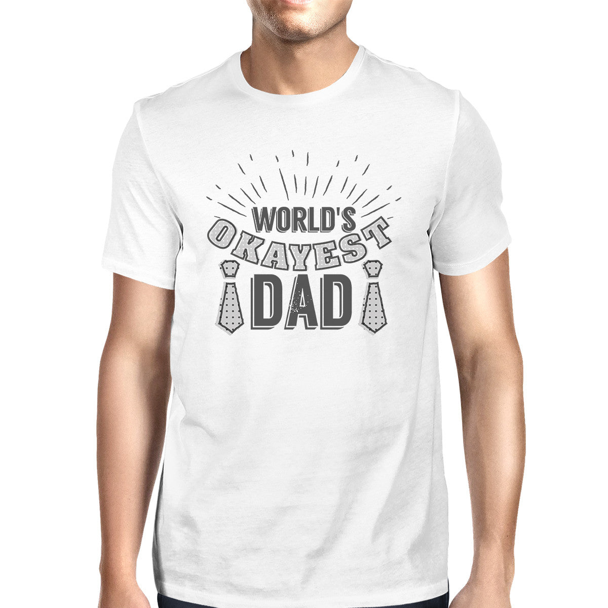 orlds okayest dad mens - HD 1200×1200