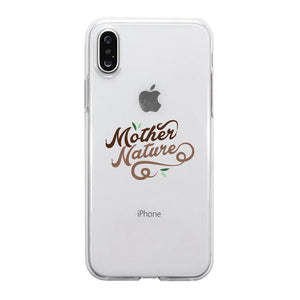 Mother Nature Jelly Phone Case Best Mom Gift Birthday Mother's Day