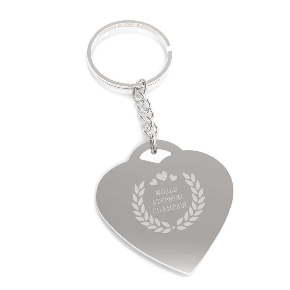 World Stepmom Champion Keychain Cute Gift Ideas For Stepmothers 365 In Love Matching Gifts Ideas