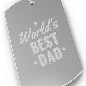 Worlds Best Dad Car Key Chain For Dad Perfect Fathers Day Gift Idea - 365INLOVE