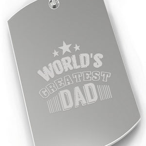World's Greatest Dad Nickel Key Chain Unique Gifts For Dad Birthday - 365INLOVE