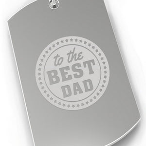To The Best Dad Gift Car Key Ring Best Dad Gifts For Fathers Day - 365INLOVE