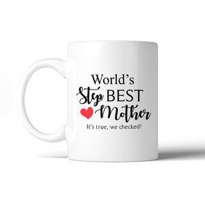World'S Best Stepmother Mug Mothers Day Gifts From Stepdaughter - 365INLOVE