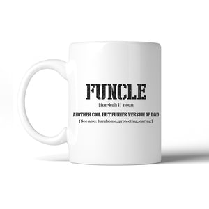 Funcle 11 Oz Ceramic Coffee Mug