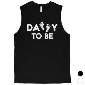 Daddy To Be Mens Muscle Shirt
