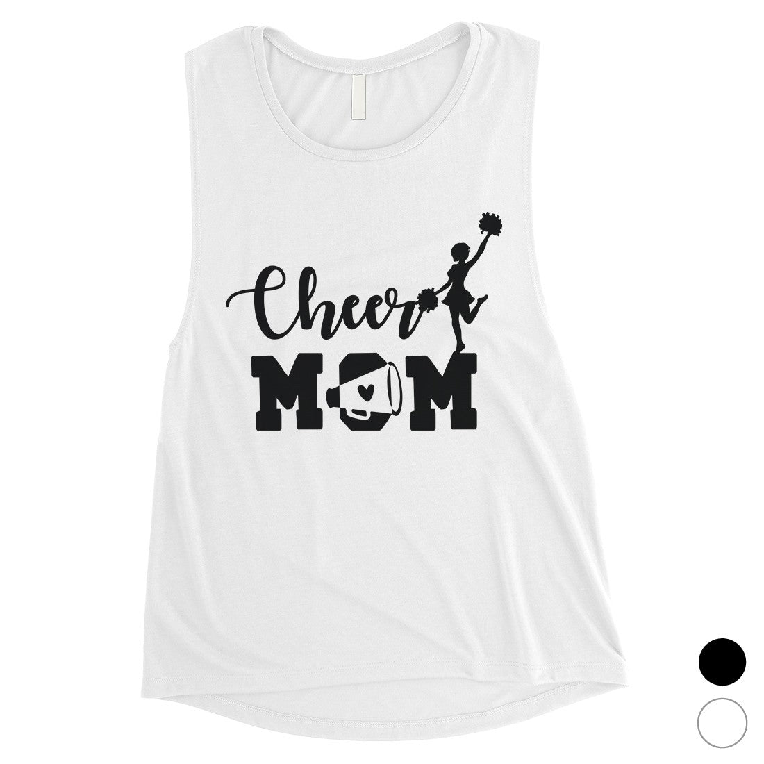 0628d9fff4a9 Cheer Mom Womens Muscle Tank Top Mother's Day Gift From Daughter ...