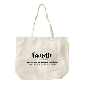 Fauntie Canvas Tote Bags
