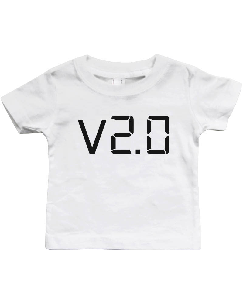 3bc69932b2dd Daddy and Baby Matching White T-Shirt   Bodysuit Combo - v.1.0 and v ...