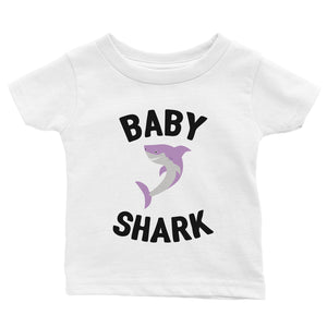 Daddy Mommy Baby Shark Family Matching Outfits Mens T-Shirt
