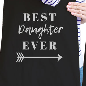 Best Daughter & Mother Ever Black Mom Daughter Couples Canvas Bag - 365INLOVE