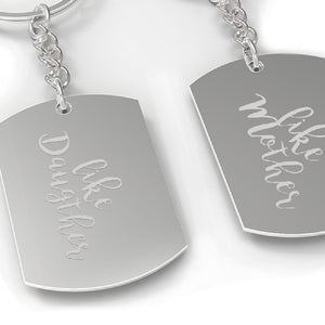 Like Daughter Like Mother Matching Kay chain Mothers Day Gift Ideas - 365INLOVE