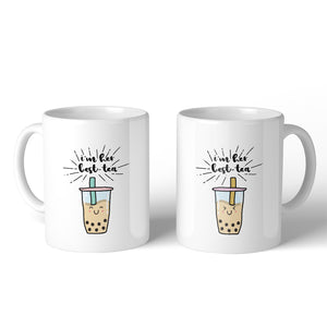 Boba Milk Best-Tea Funny BFF Matching Gift Cute Coffee Mugs 11 Oz