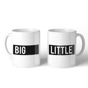 Big Little Boxed BFF Matching Gift Coffee Mugs 11 Oz Outstanding